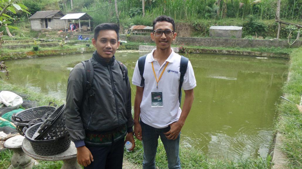 Tim Business Development FINTAG bersama Dana Ida Bagus (Tenaga Pendamping wilayah Bali)