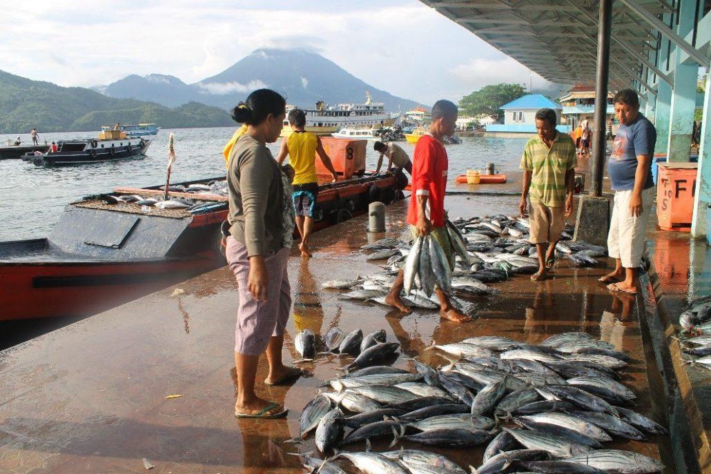 Pelabuhan Perikanan Nusantara Bastiong Ternate
