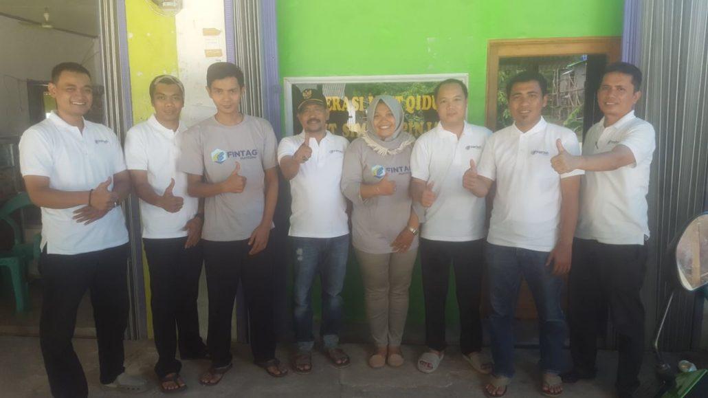 Fintag bersama Pengurus Koperasi Laut Qidul