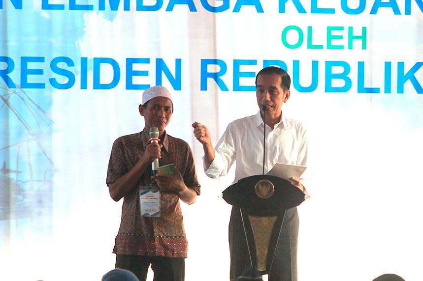 Jokowi Fintag LPMUKP2